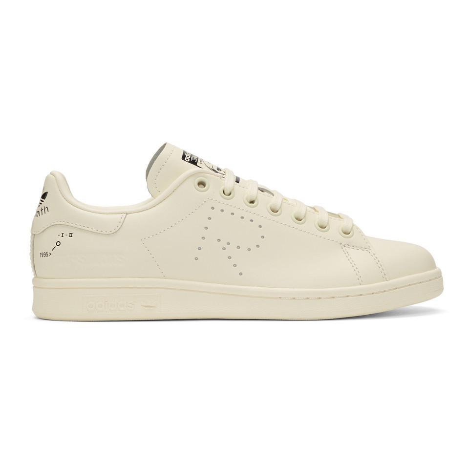 7c5e706506ed Lyst - Raf Simons Off-white Adidas Originals Edition Stan Smith ...
