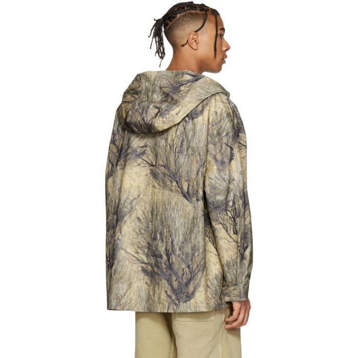 Yeezy Khaki Camo Pullover Jacket in Natural for Men - Save 56% | Lyst