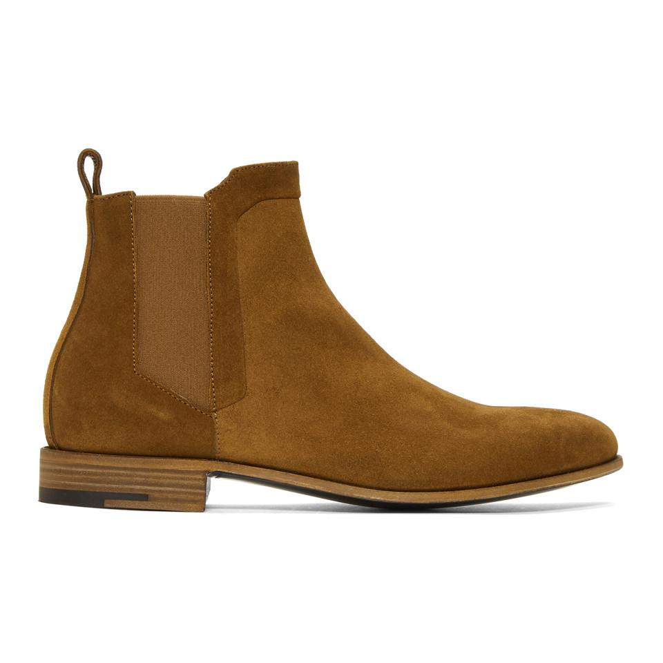 Pierre Hardy Grey Suede Drugstore Chelsea Boots vFHRtrOBp