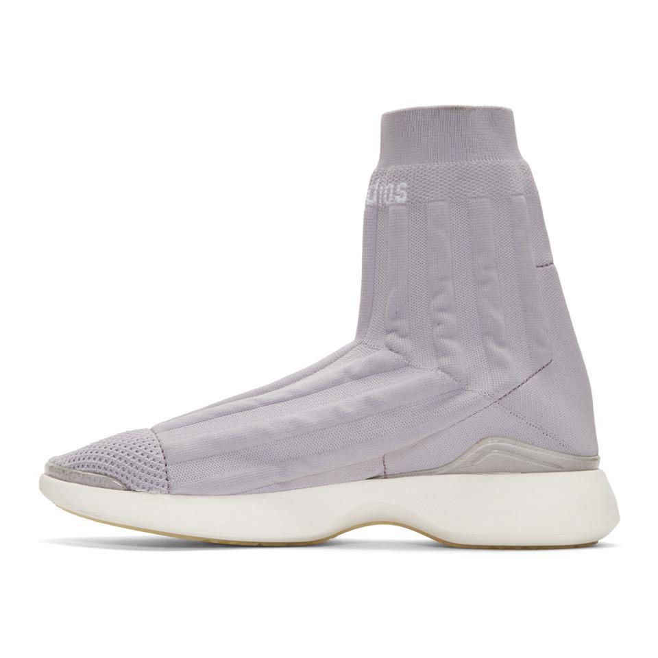 Versus Purple Batilda High-Top Sneakers Qgk4ude