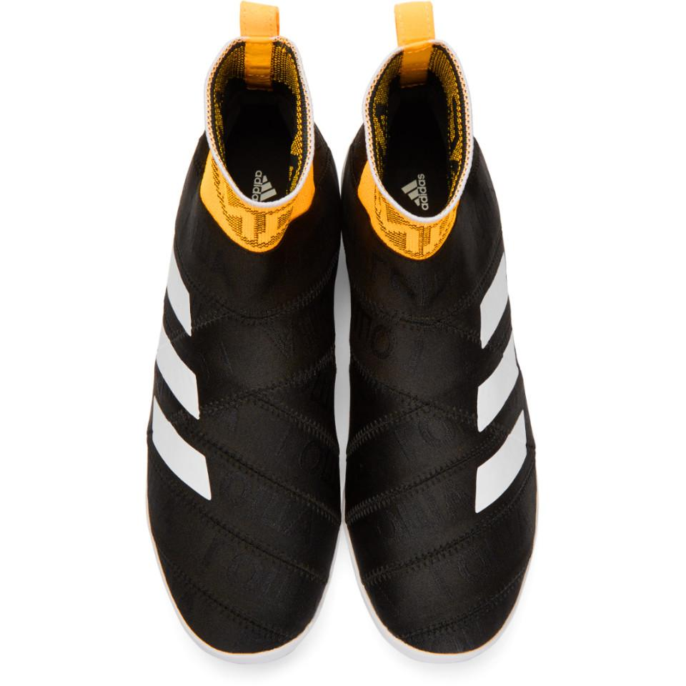 Black adidas Originals Edition Nemeziz High-Top Sneakers Gosha Rubchinskiy Cheap Sale Cheapest Price Pictures Cheap Price Buy Cheap From China Lowest Price Sale Online Explore For Sale N7KXLB6f5