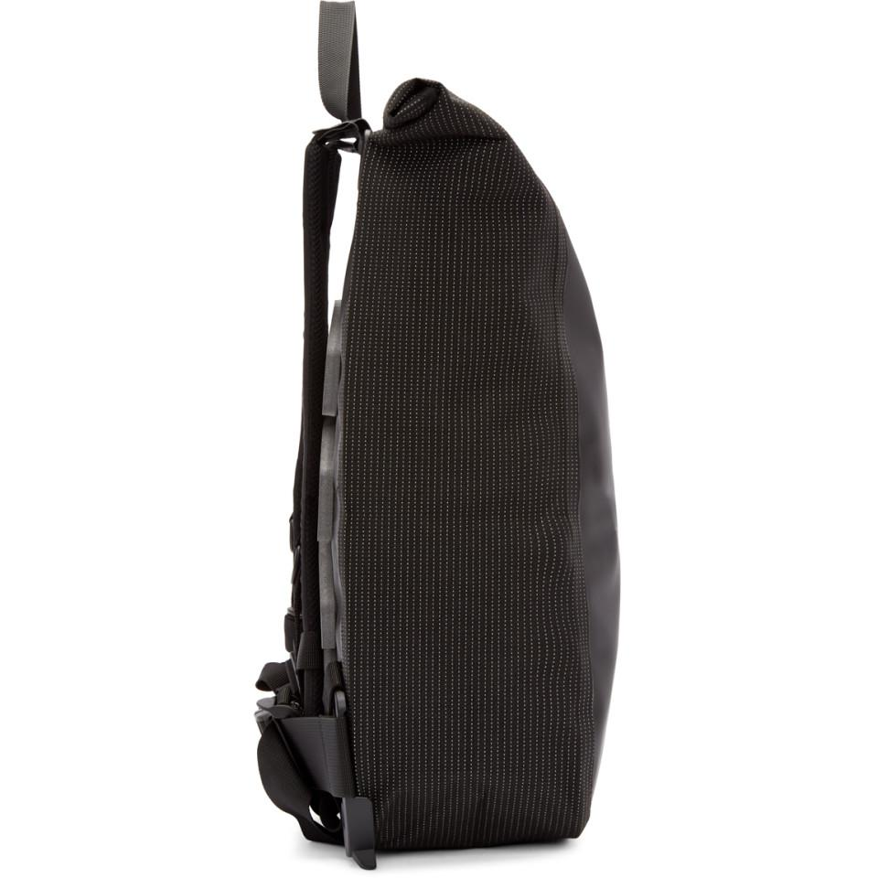 1e25b1b73827 Lyst - Boris Bidjan Saberi 11 Black Roll-top Velocity Backpack in ...