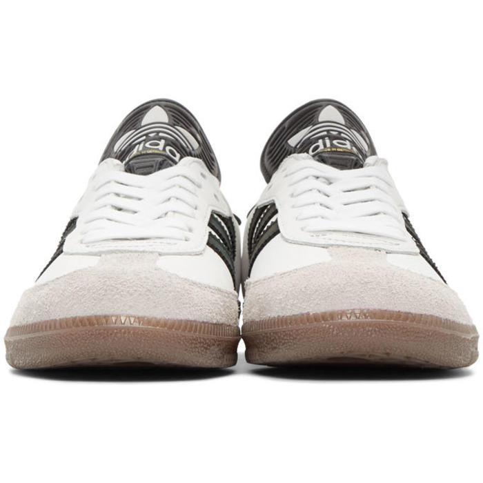lyst adidas samba originale bianco classico og mig sneakers in