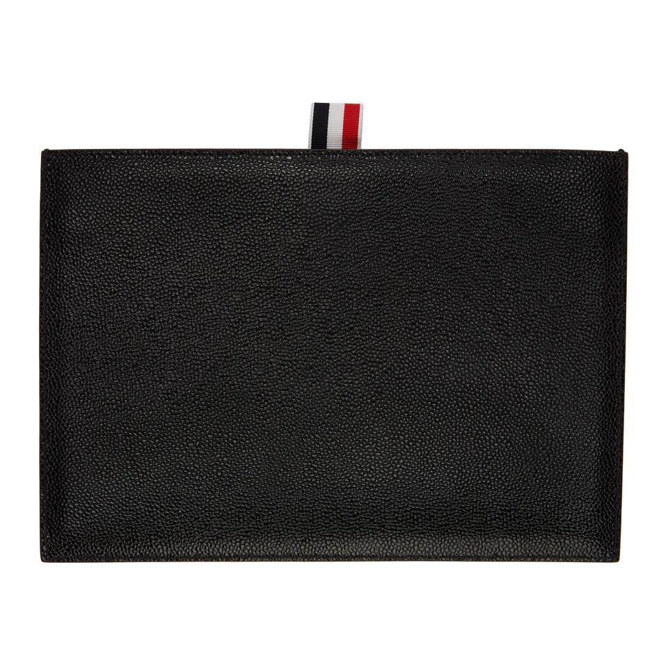 Pochette Folio Tablette Noir Thom Browne qqJ5hMlpeC