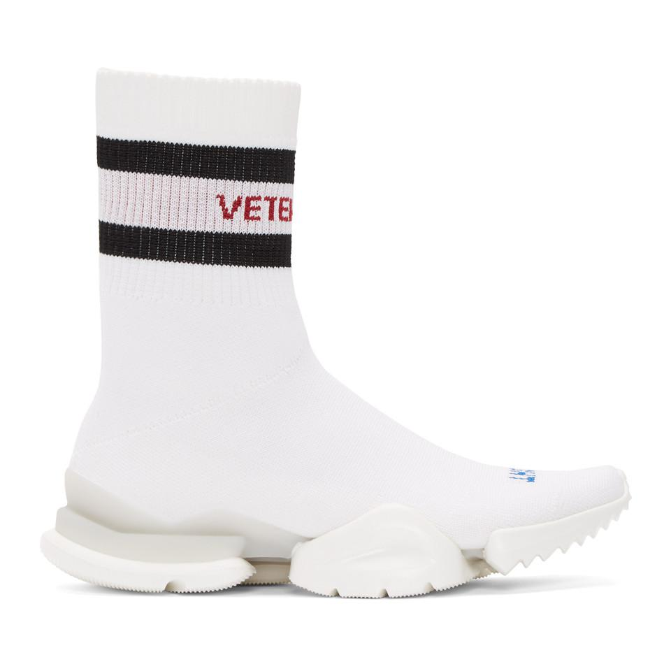 Vetements Reebok Edition Sock Pump High-Top Sneakers B1XbUvbD