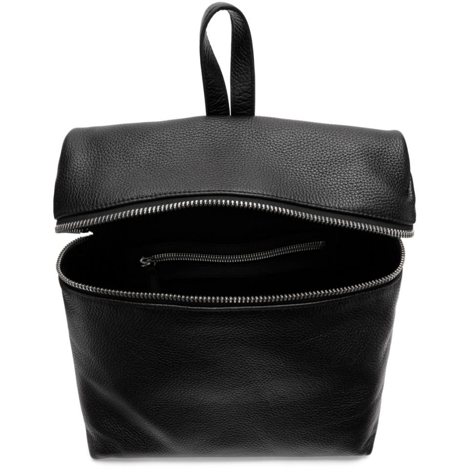 Perfect Cheap Price Black Large Leather Backpack Kara For Cheap Online 2LG599wN
