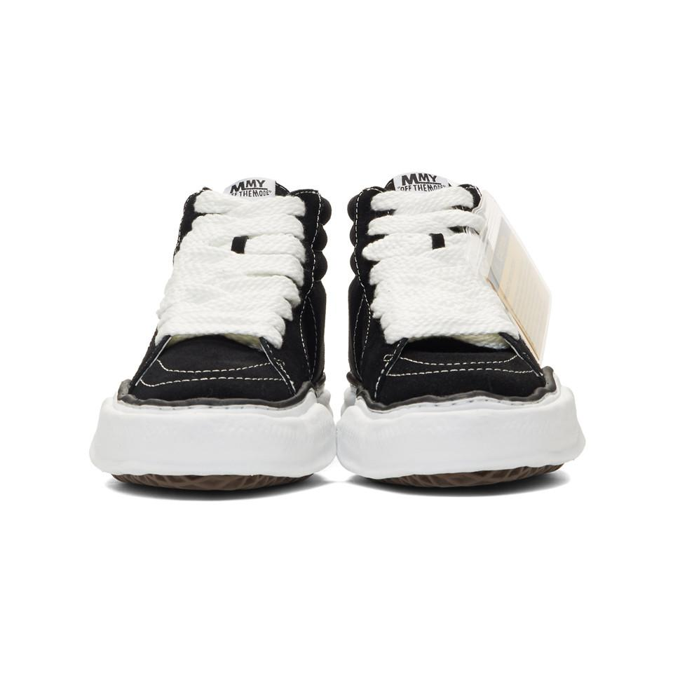 9c1dae6a69e Miharayasuhiro - Black Original Sole High-top Sneakers for Men - Lyst. View  fullscreen