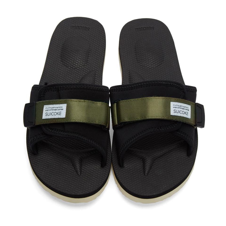 Suicoke Green Padri Sandals QmCpbP92