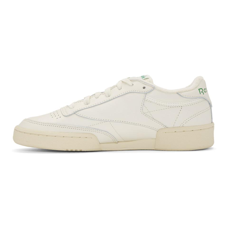 570f794f8c6cda Reebok - White Club C 85 Vintage Sneakers for Men - Lyst. View fullscreen