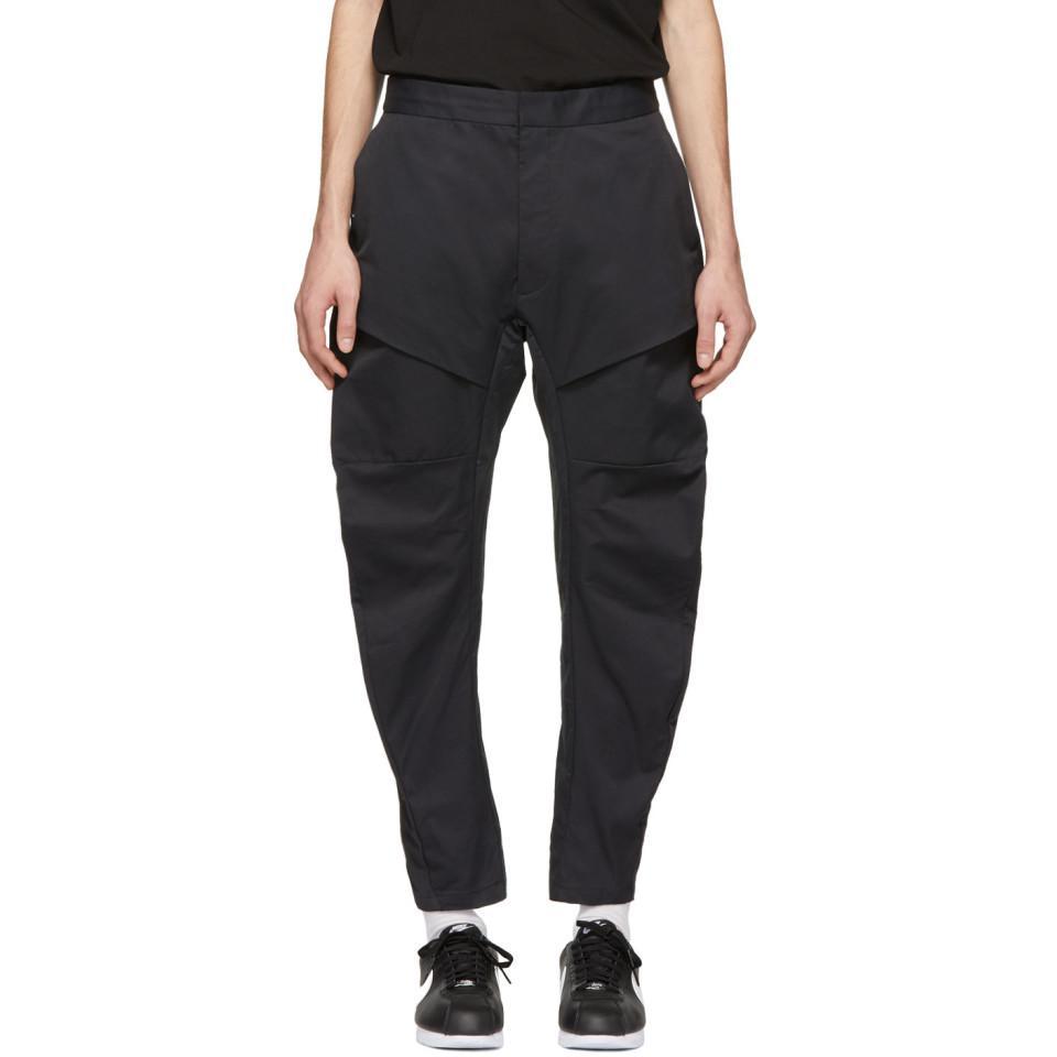 Lyst - Pantalon cargo tisse noir Tech Pack Nike pour homme en ... d056ab18a98b