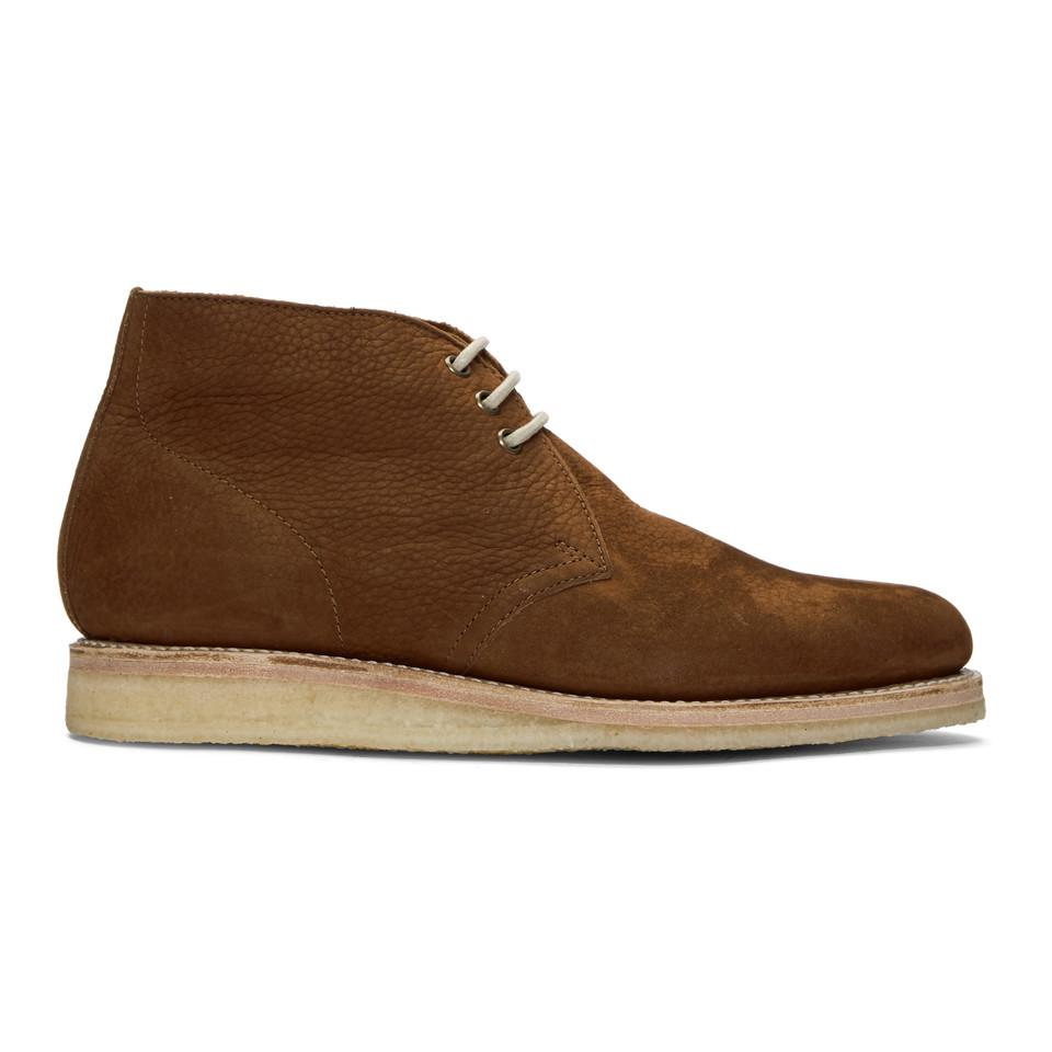 Grenson Brown Nubuck Osmond Desert Boots i0MvhakM
