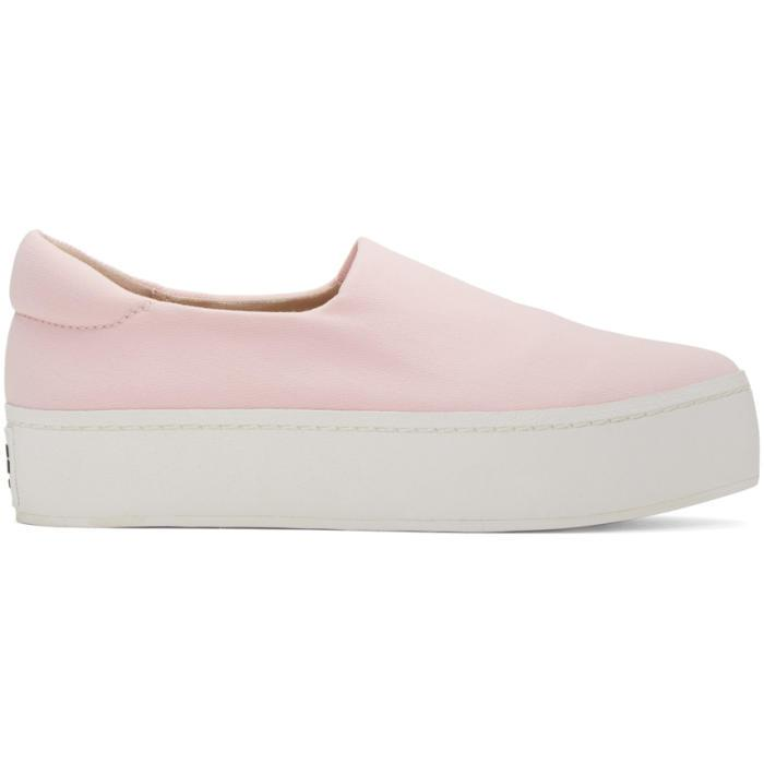 SSENSE Exclusive Pink Platform Slip-On Sneakers Opening Ceremony twLcQ8