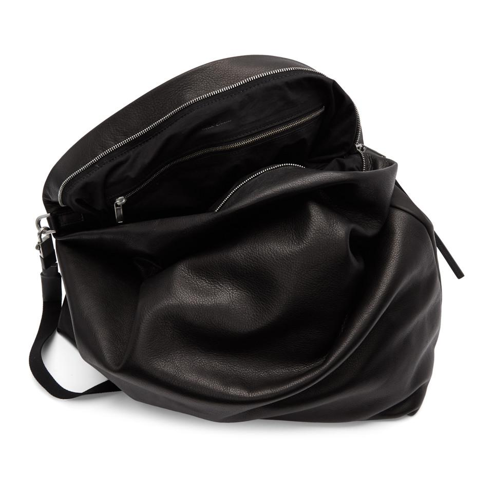 579e9eea95 Rick Owens Black Jumbo Balloon Bag in Black for Men - Lyst