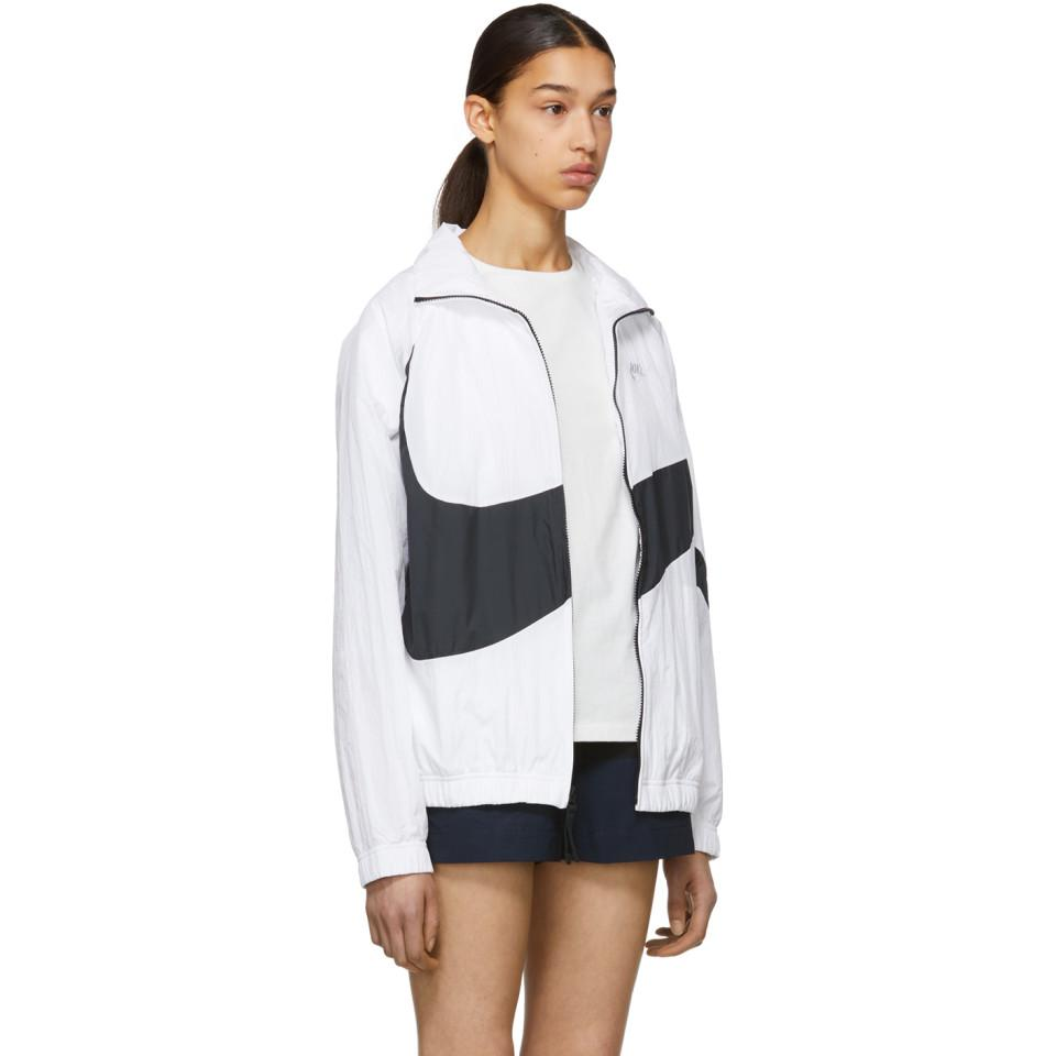 4b46d7be19 Nike - Multicolor White Nsw Hbr Track Jacket - Lyst. View fullscreen