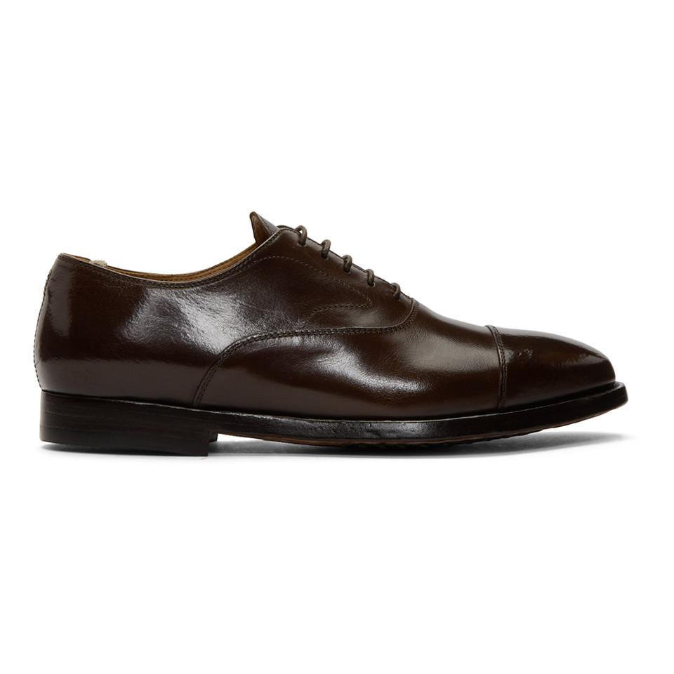 Chaussures 2 Pour Brunes Creative Officine Homme Lyst Herve Oxford zFw4gBxwdq