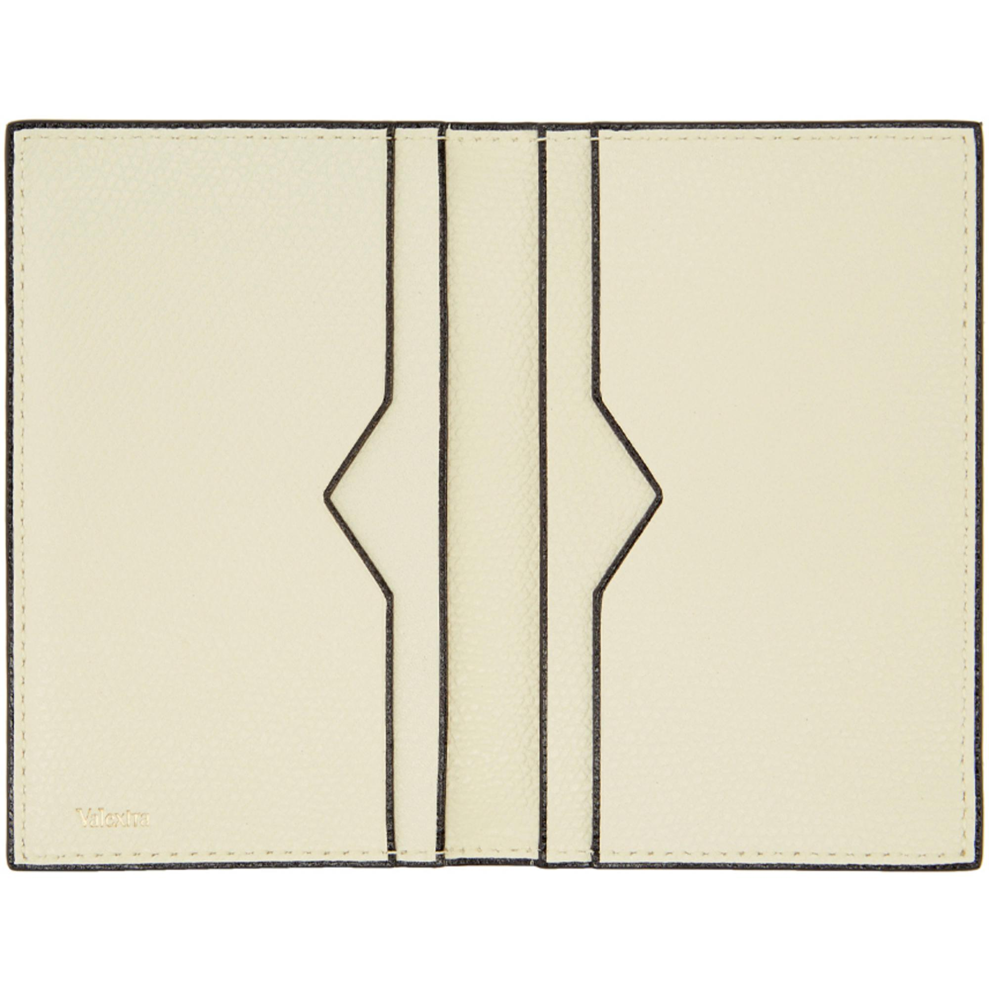 Lyst valextra off white business card holder in white gallery colourmoves