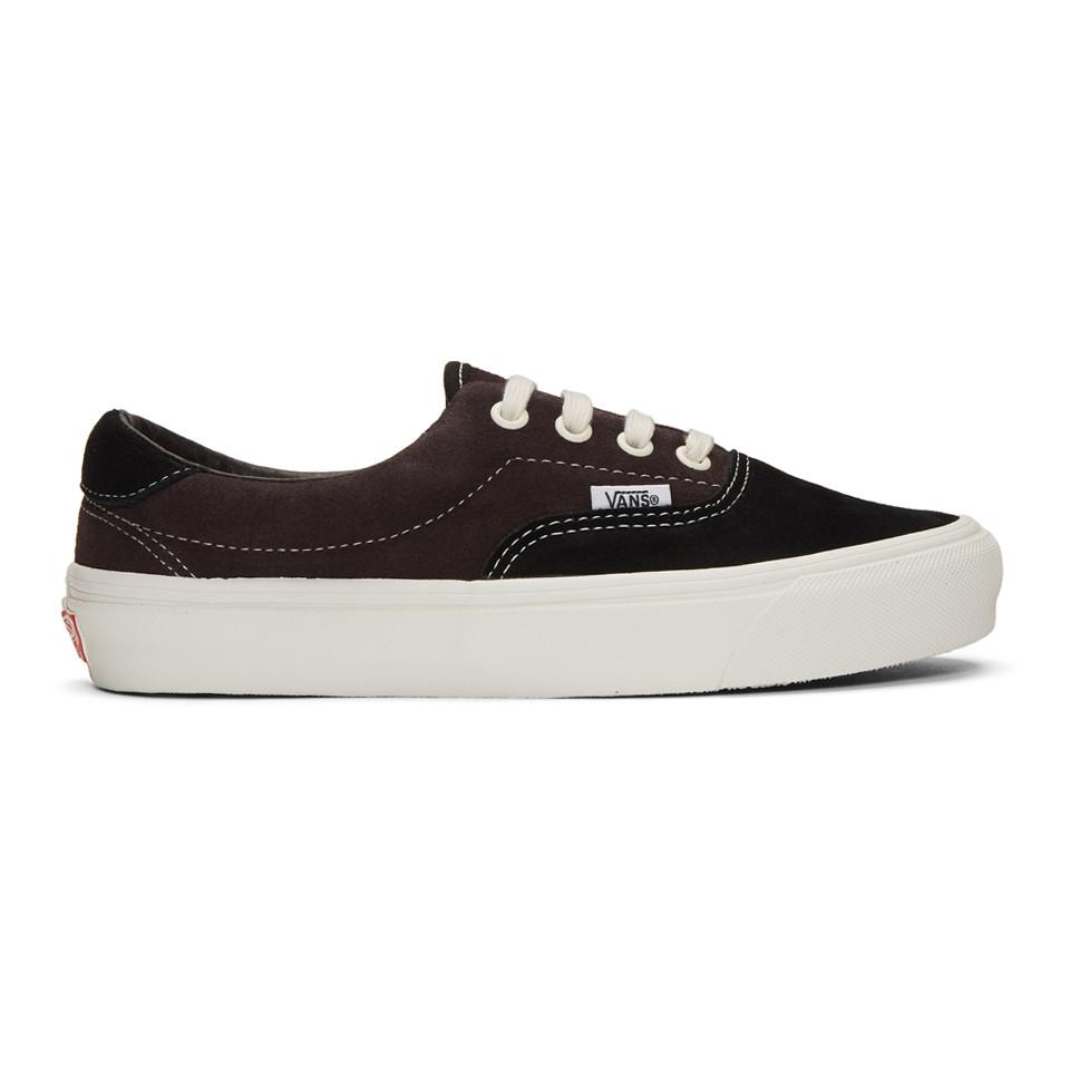 50bad6a2f107 Lyst - Vans Brown And Black Og Era 59 Lx Sneakers in Black for Men
