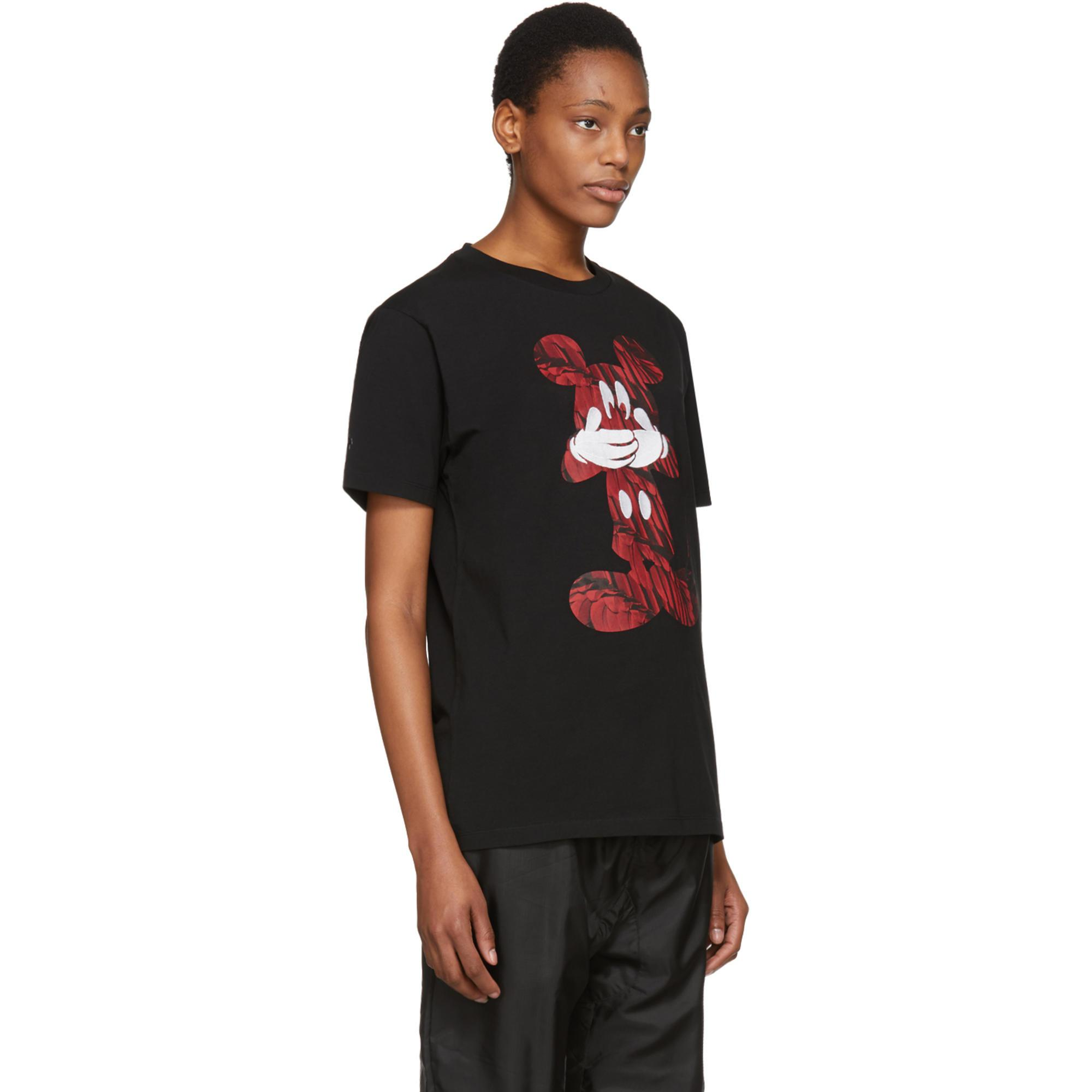 Lyst - Marcelo Burlon Black And Red Disney Edition Mickey Mouse T ... 3a38b99fe