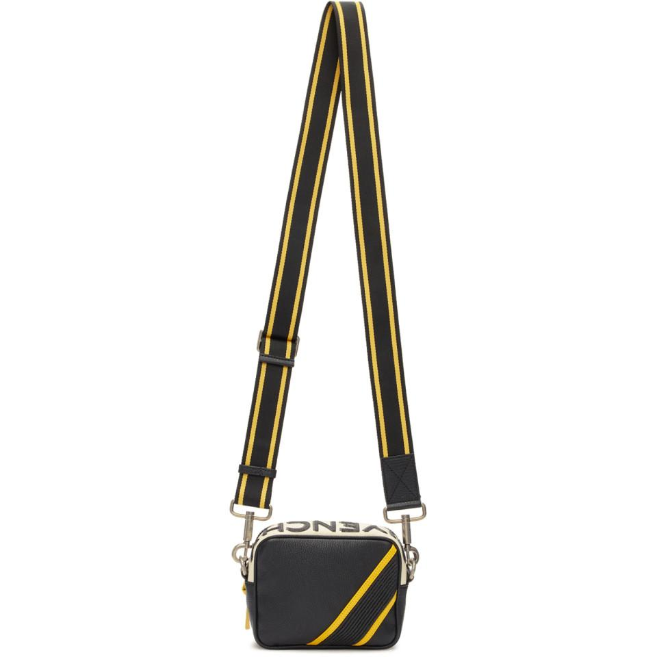 bcb97f82 Givenchy Black And Yellow Reverse Logo Crossbody Bag for men. View  fullscreen