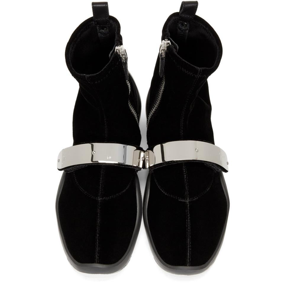 d8a27123ed5c5 Giuseppe Zanotti Black Light Jump Stretch High-top Sneakers in Black ...