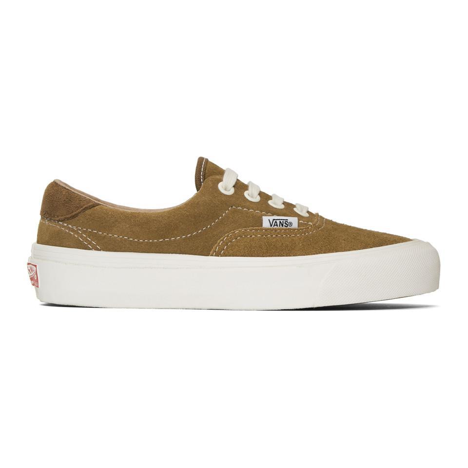 4846a8b145f5 Vans Brown Suede Og Era 59 Lx Sneakers in Brown - Lyst