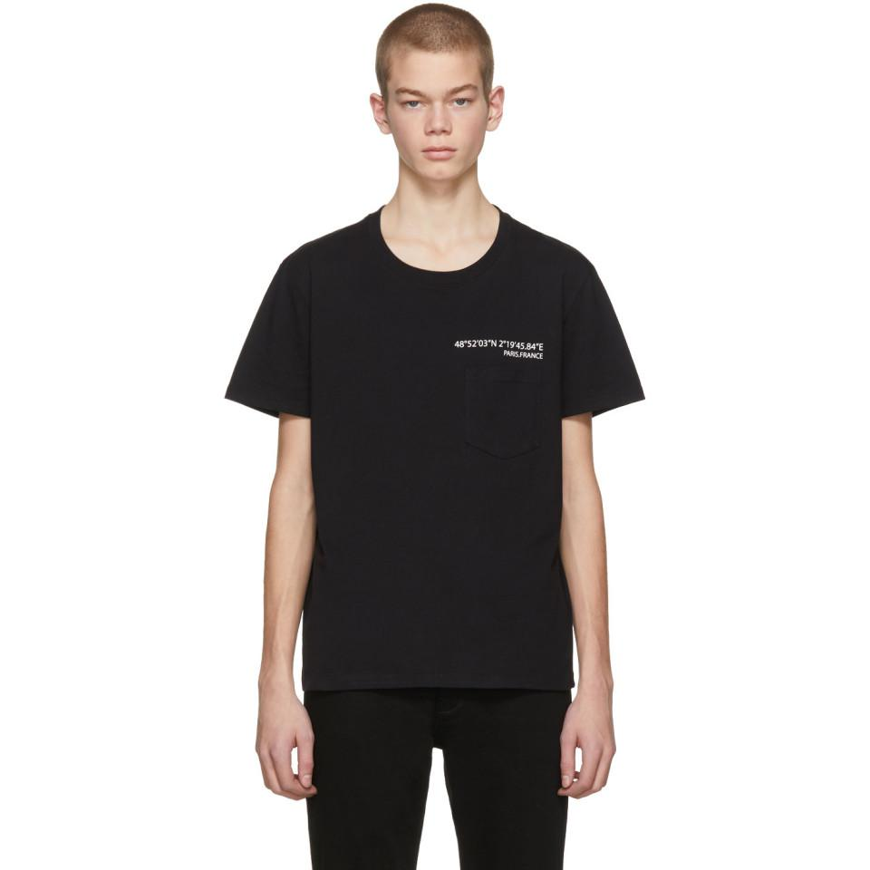 Black Anywhen Coordinates Pocket T-Shirt Valentino In China Online ZzkZnUw7
