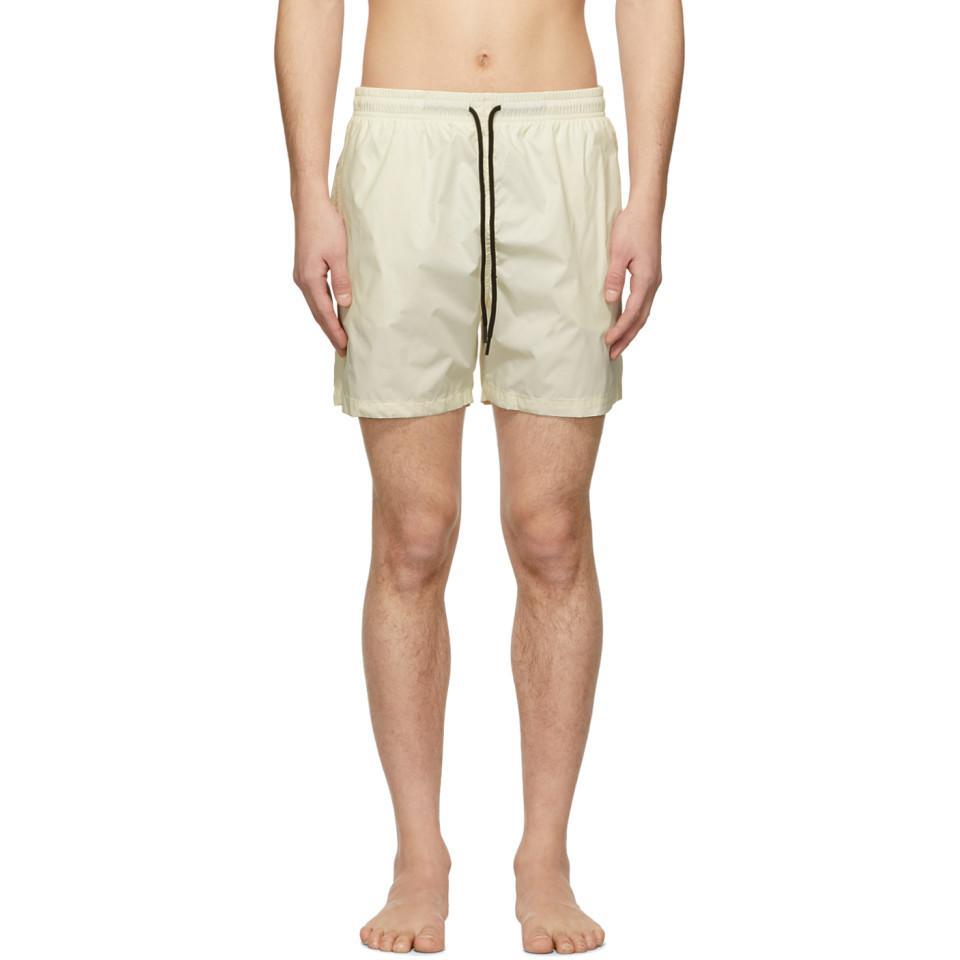 00e9a05cfa8dc Lyst - Solid & Striped Off-white Classic Swim Shorts in White for Men