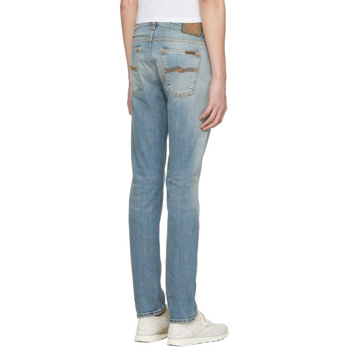 Jeans In For Tor Tilted Men Nudie Blue Lyst OZBxPwPHq