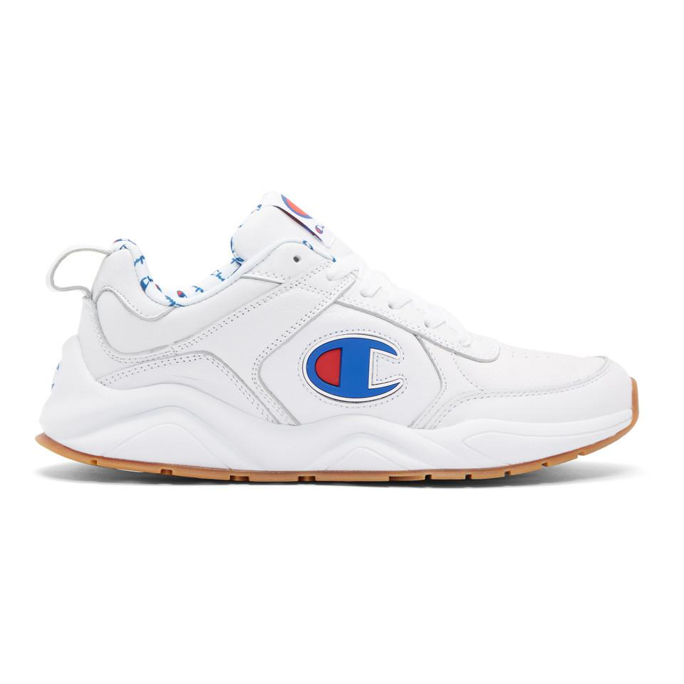 625a09f2cd6 Lyst - Champion White 93eighteen Big C Sneakers in White for Men ...
