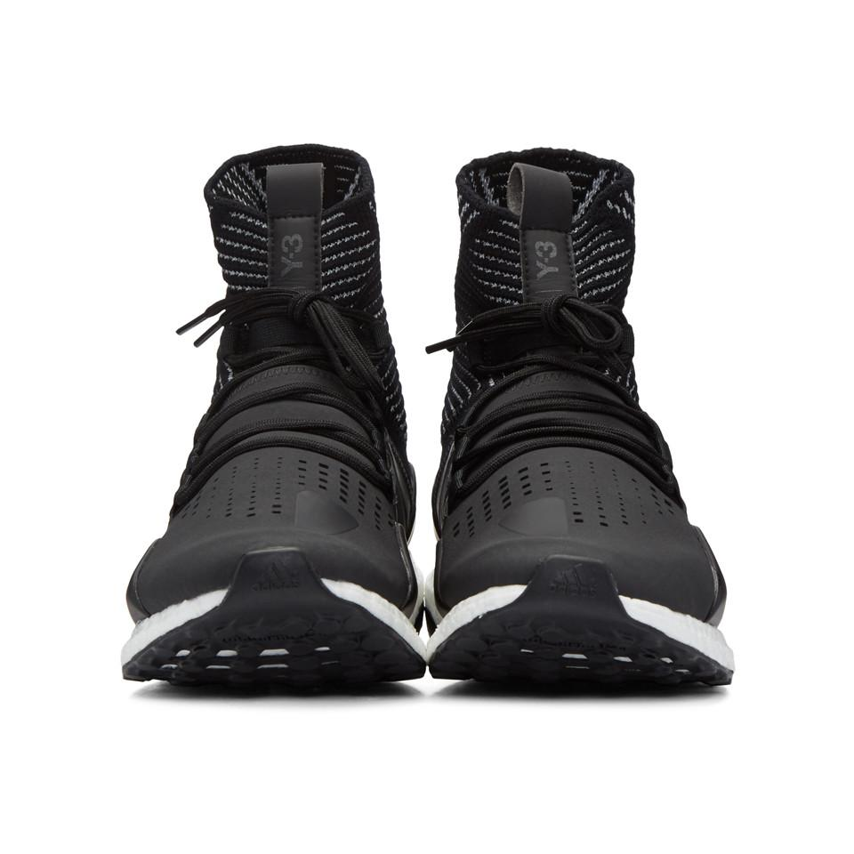 Y-3 Approach Reflect High-Top Sneakers Low Price For Sale 6cNwabh