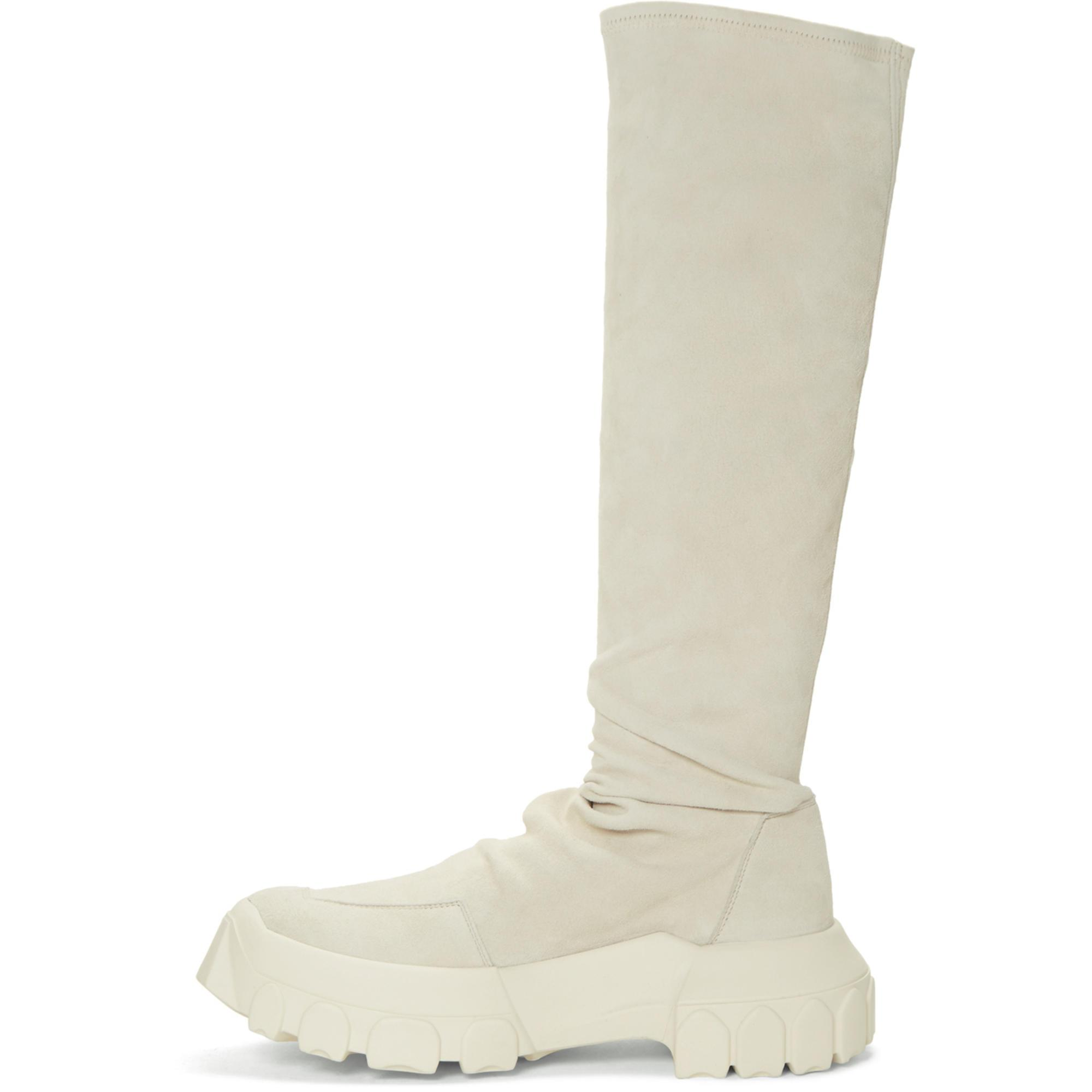 Rick Owens Stretch hiking sock sneakers TURnqsLY9X