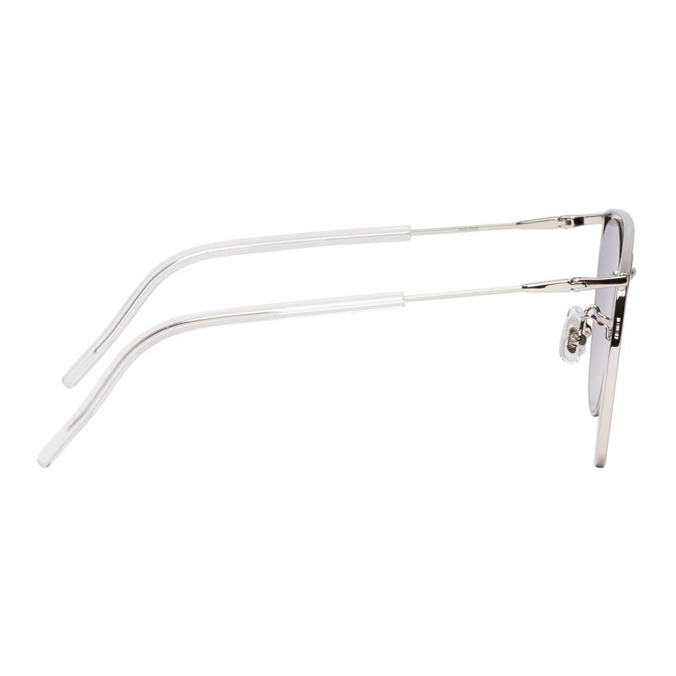 9a9358d54508 Gentle Monster Silver Tick Tock Sunglasses in Metallic for Men - Lyst