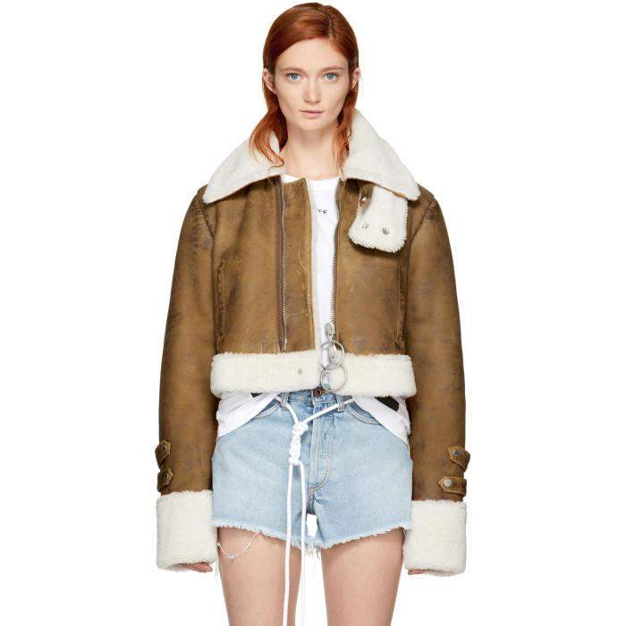 411da3832c5a Gallery. Previously sold at  SSENSE · Women s Cropped Leather Jackets ...