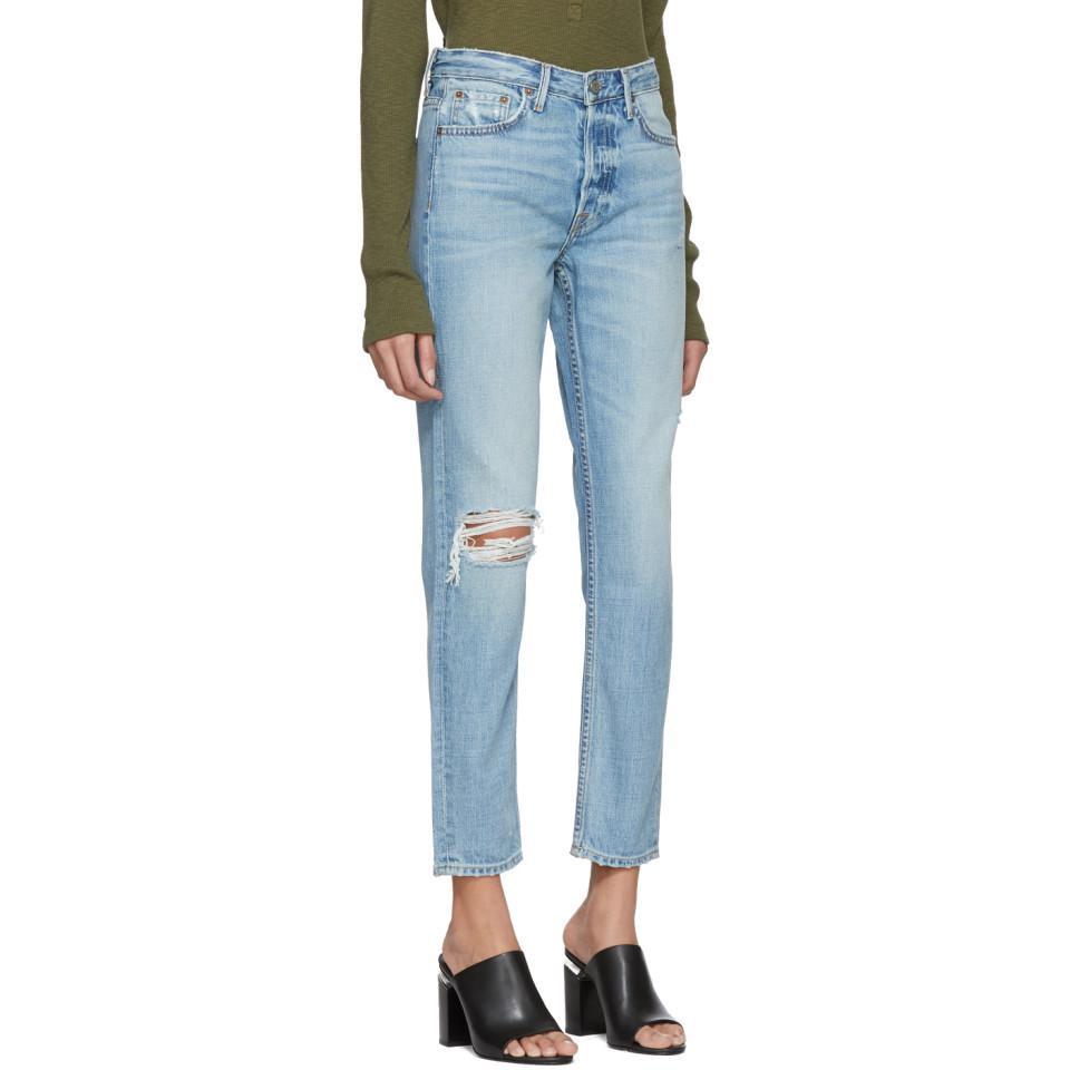 Jeans de Grlfrnd recta pierna Klara HqdYxwvH