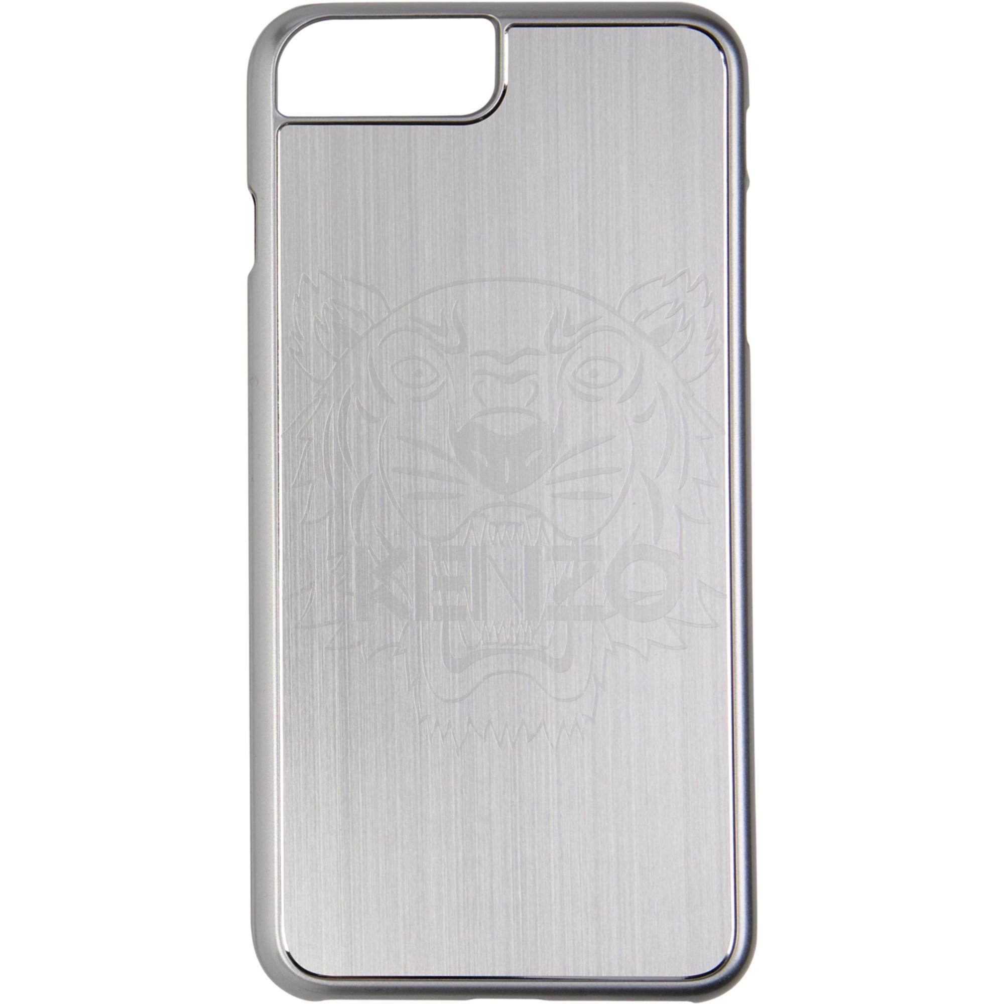 Lyst - Étui pour iPhone 7 Plus et 8 Plus en aluminium argenté Tiger ... c43110e5acb