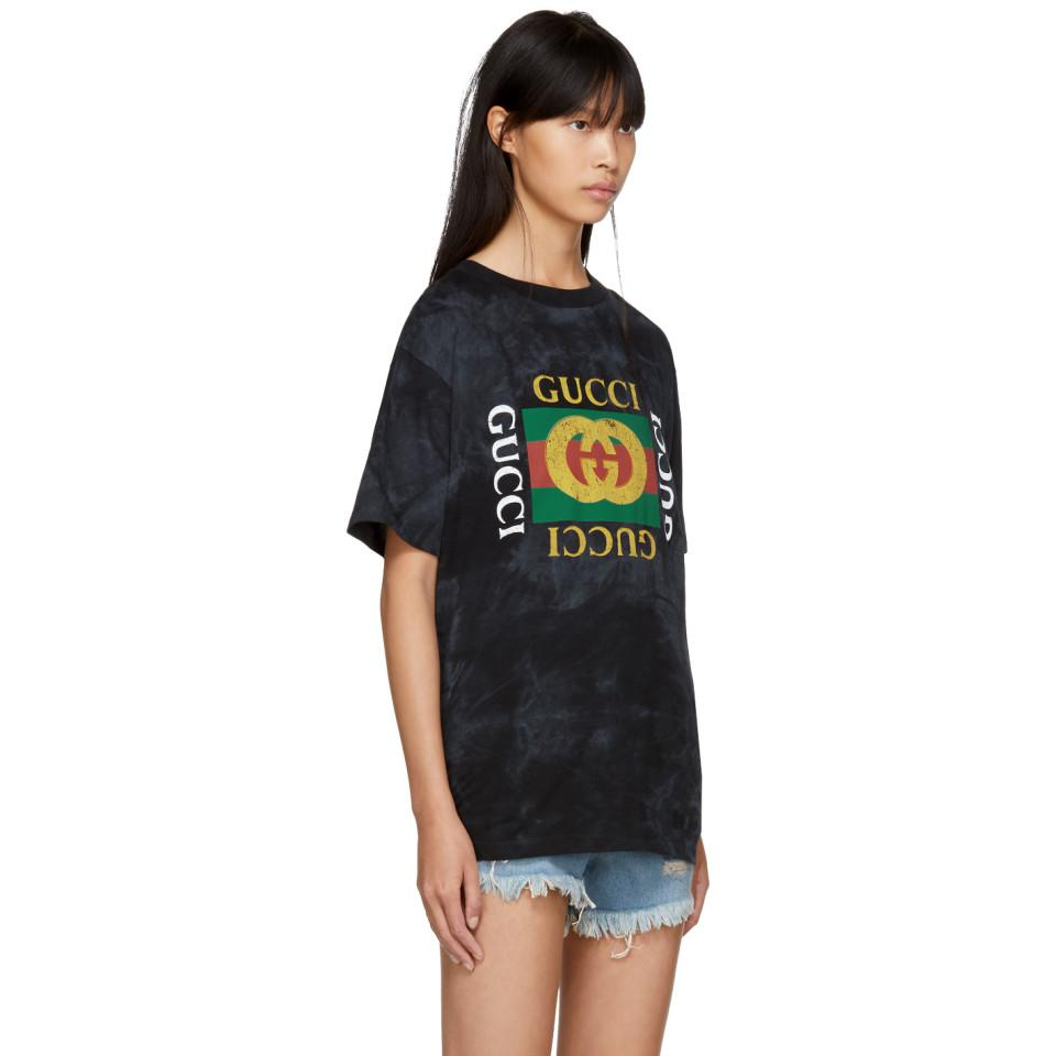 e3ad25eae22 Gucci - Black  loved   vintage   T-shirt - Lyst. View fullscreen