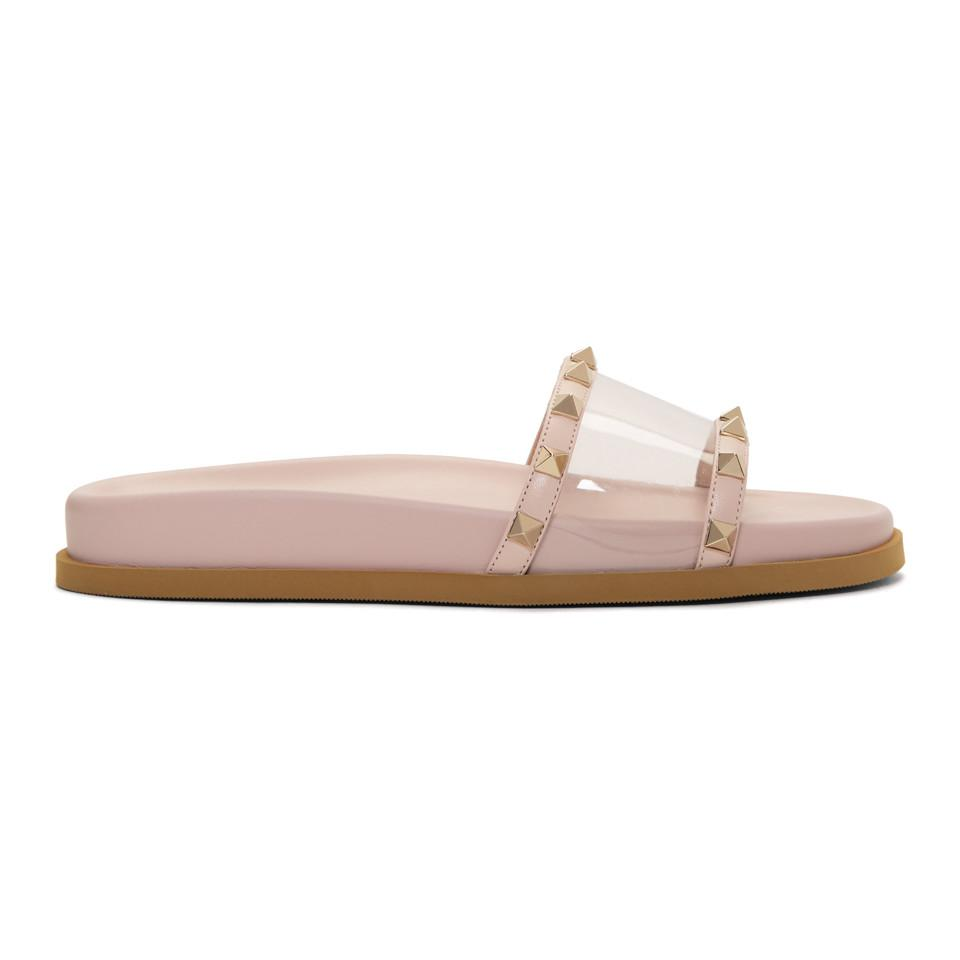 Read more Pink Valentino Garavani PVC Moonwalk Slides b2SoHpp8De