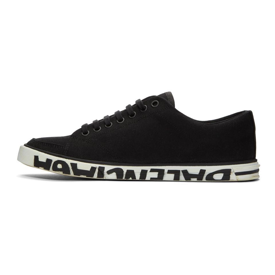 Balenciaga Black Match Low Sneakers qbcPPtpolh