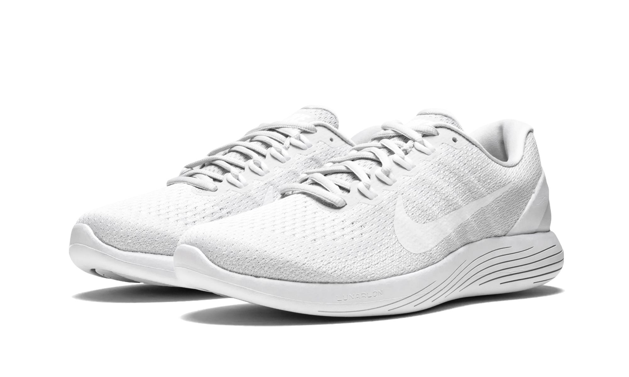 09aadd15dfd Nike - White Lunarglide 9 for Men - Lyst. View fullscreen