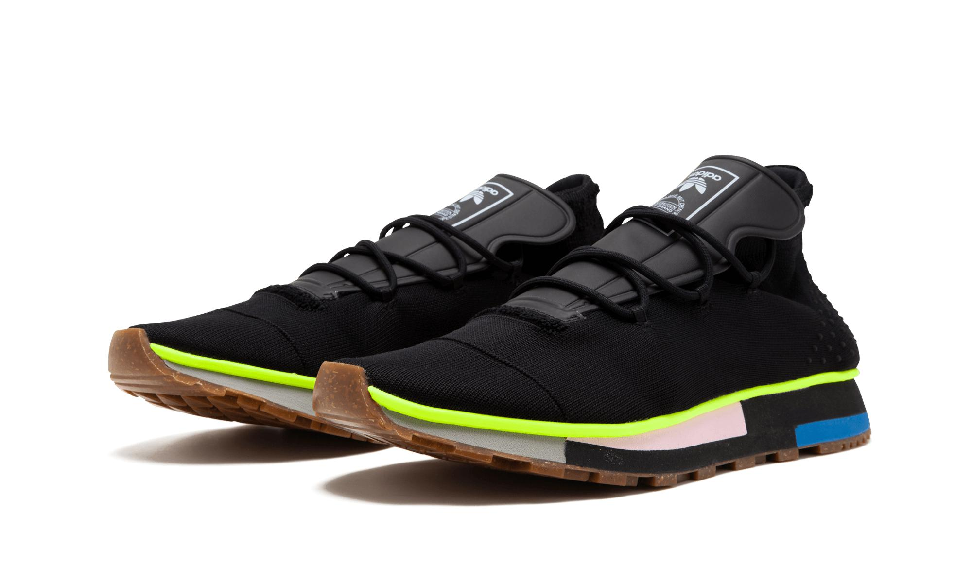 best authentic 9bd93 9bbd8 Lyst - Adidas Aw Run Mid in Black for Men
