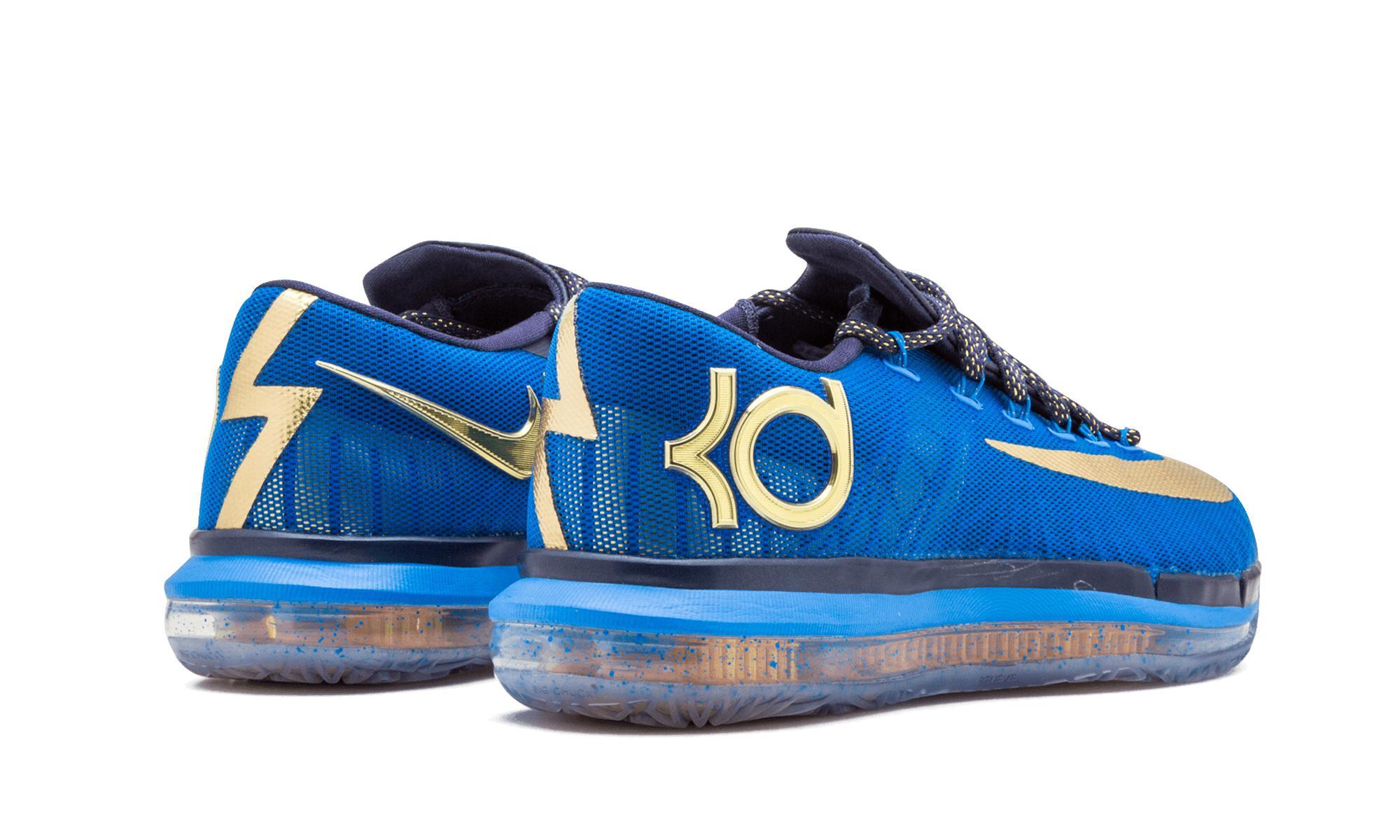 fbb9d2157bfc Nike - Kd 6 Elite Premium Photo Blue metallic Gold  supremacy  for Men.  View fullscreen