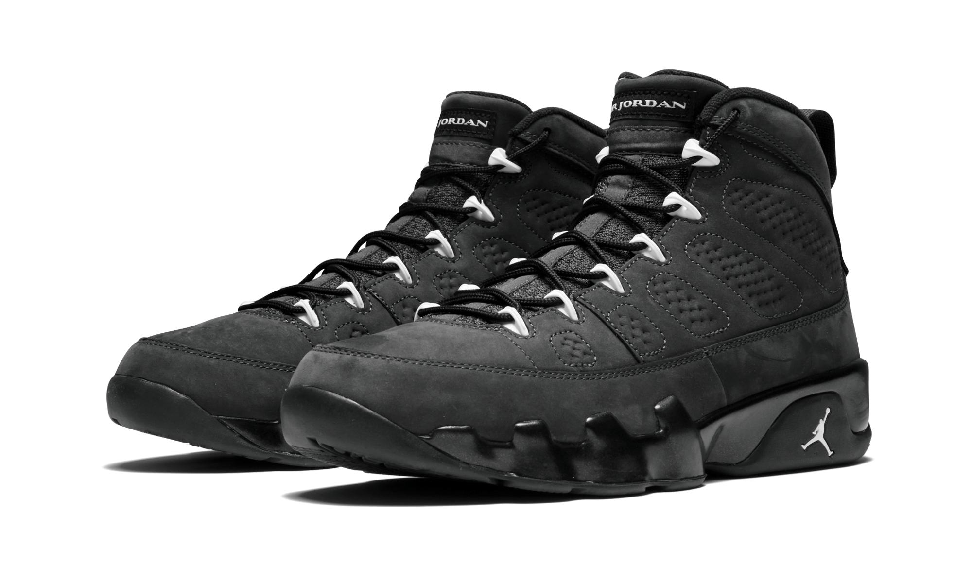 hot sale online 8b760 969bb Nike - Black Air 9 Retro for Men - Lyst. View fullscreen