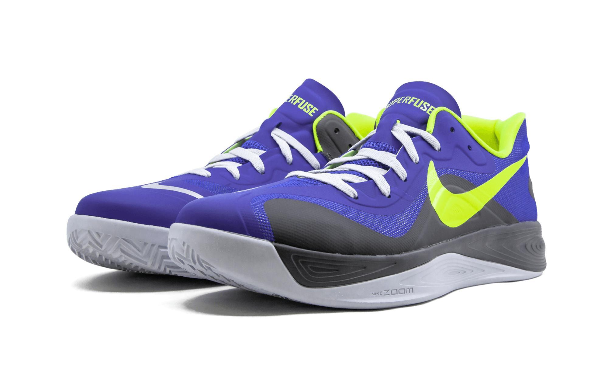 5f459a60f9b Nike - Blue Hyperfuse Low for Men - Lyst. View fullscreen