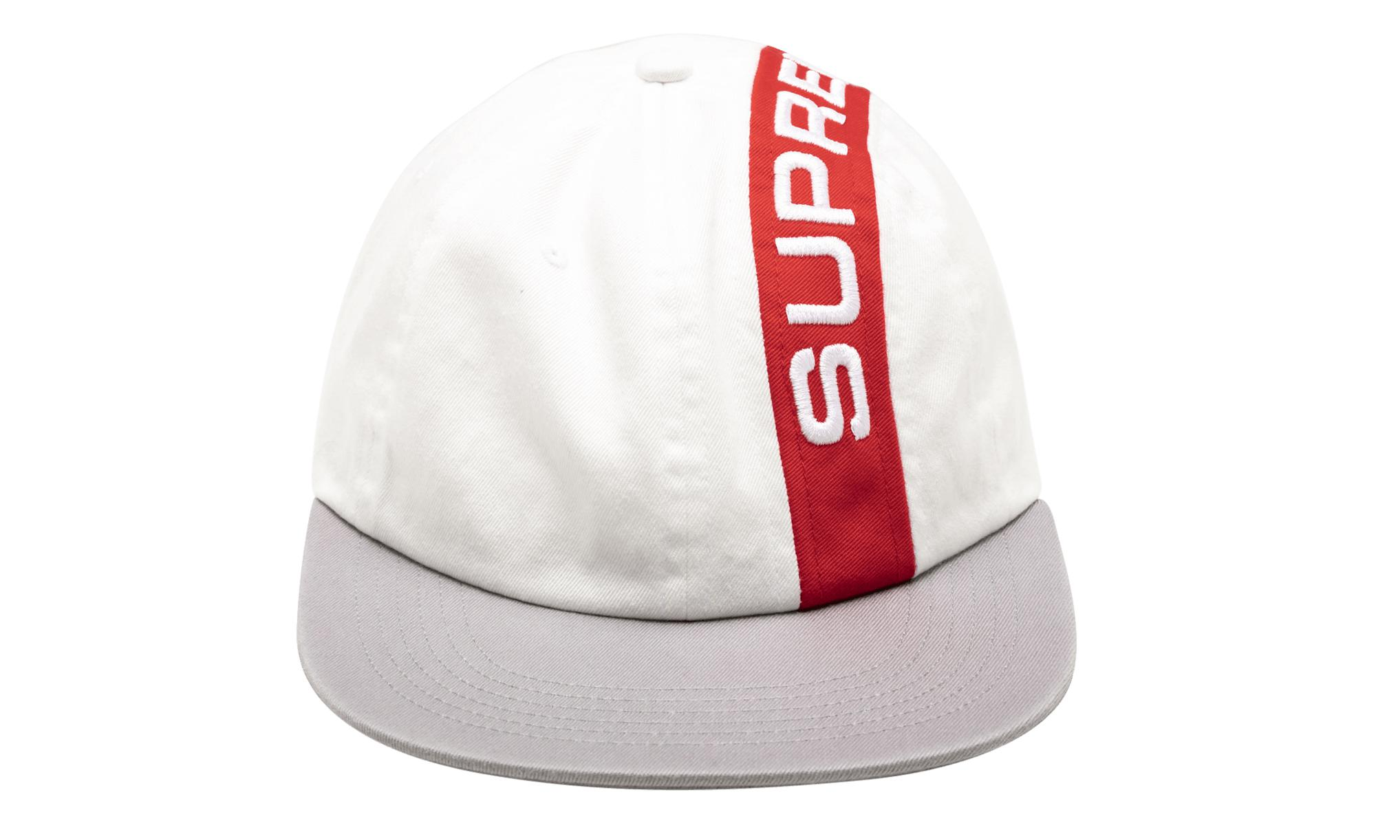 4306aade43d Supreme - White Stripe 6-panel Cap for Men - Lyst. View fullscreen
