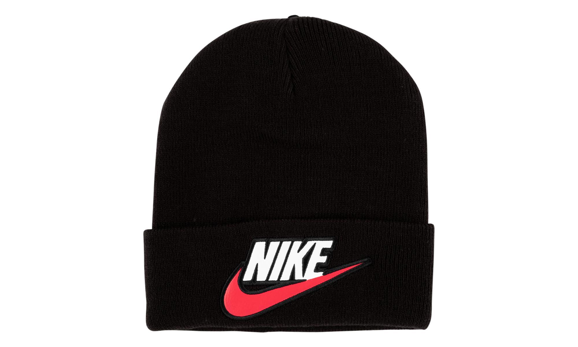 Lyst - Supreme Nike Beanie in Black for Men d306b934f566