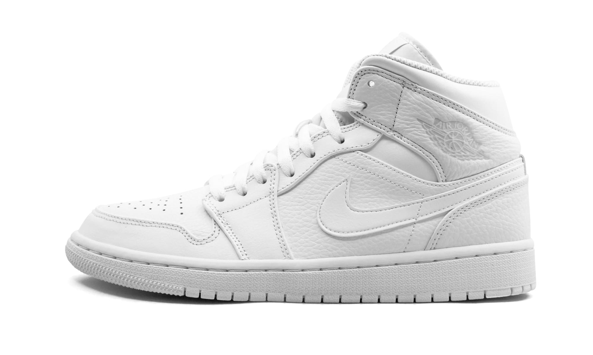 Lyst - Nike Air 1 Mid in White d11b10075