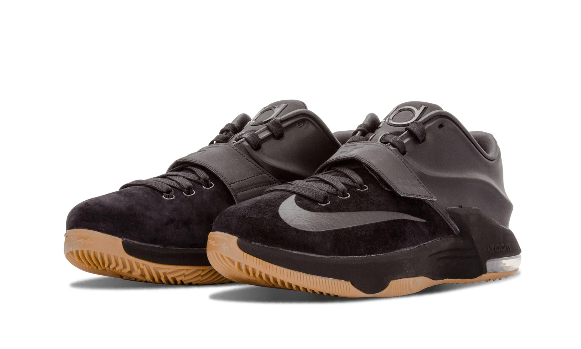 best service 14ca5 9b13e Lyst - Nike Kd 7 Ext Suede Qs in Black for Men
