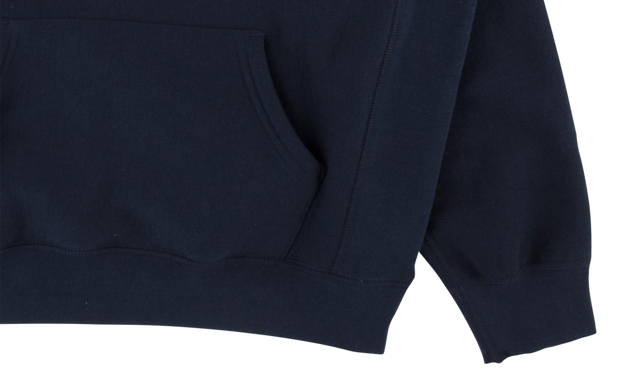 737abf889217 Supreme - Blue Cord Collegiate Logo Hooded Sw for Men - Lyst. View  fullscreen