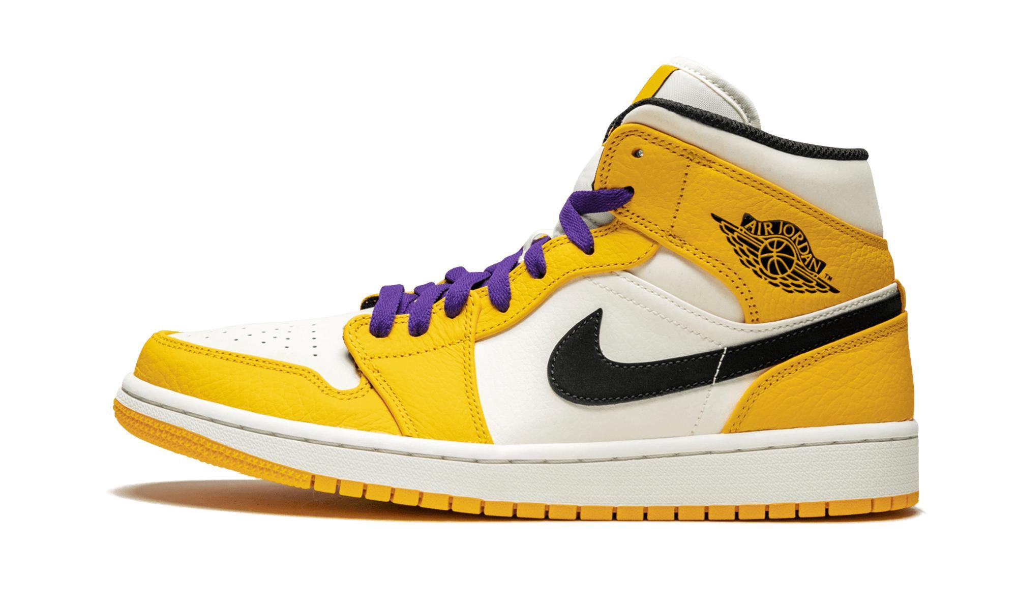 innovative design e5965 51897 Nike - Yellow Air 1 Mid Se for Men - Lyst. View fullscreen