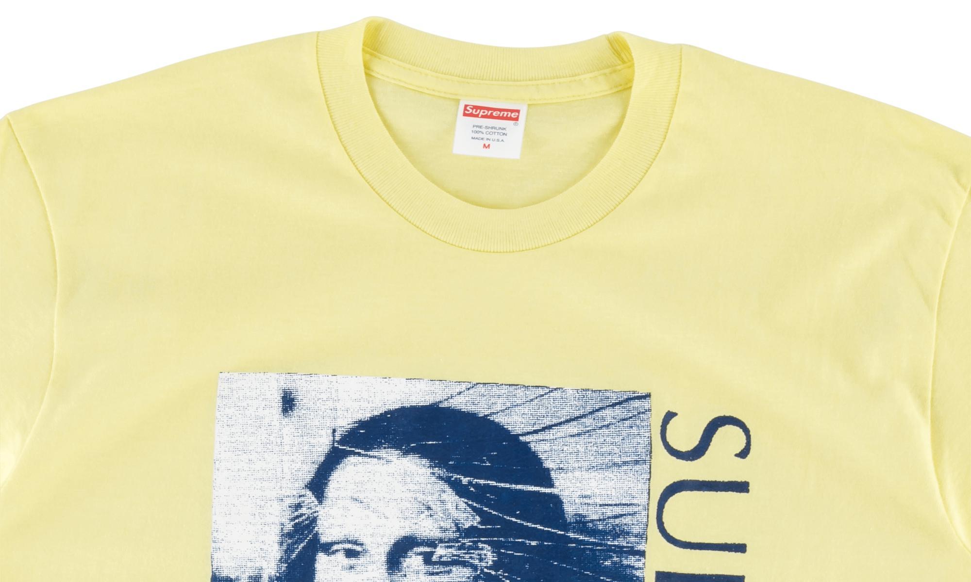 31bdb3d74938 Supreme - Yellow Mona Lisa Tee for Men - Lyst. View fullscreen